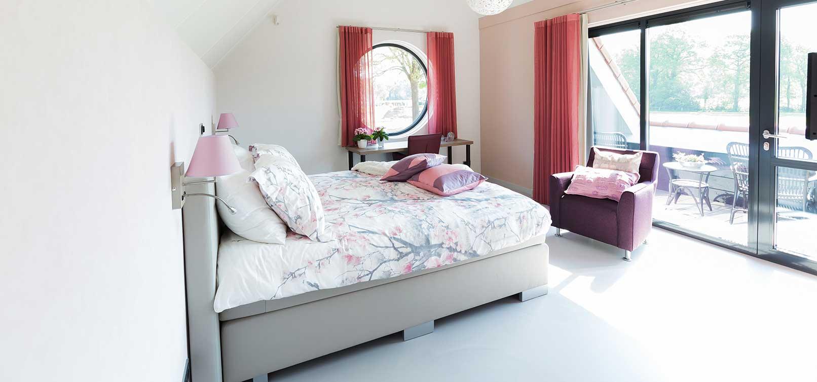 B&B Erve Grootenhuys heeft 4 ruime, lichte en vooral luxe ...